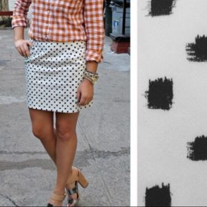 J. Crew Womens Wool Blend Mini Skirt. Size 6